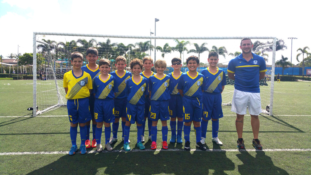 U10 Blue Coach Adrian Barrios