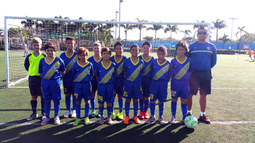 U11 Blue Coach Marcos T. Restrepo