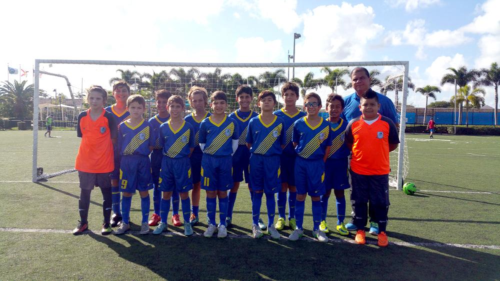 U11 White Coach Carlos Fonseca