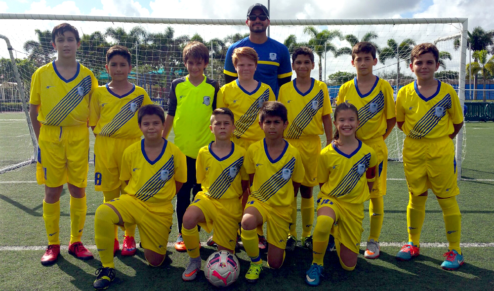 U12 White Coach Kevin Piraquive