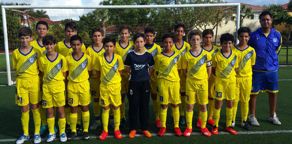 U13 Blue Coach Brian Casanas