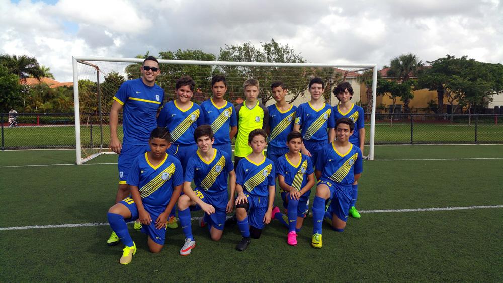U14 Blue Coach Sebastian Gudino