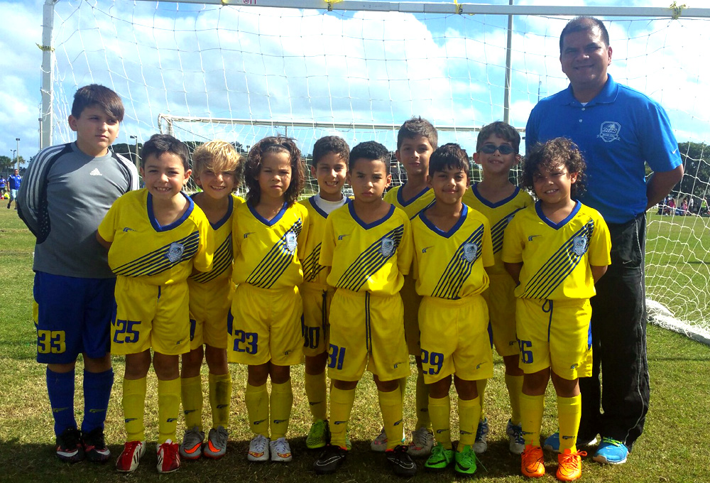 U9 Red Coach Carlos Fonseca