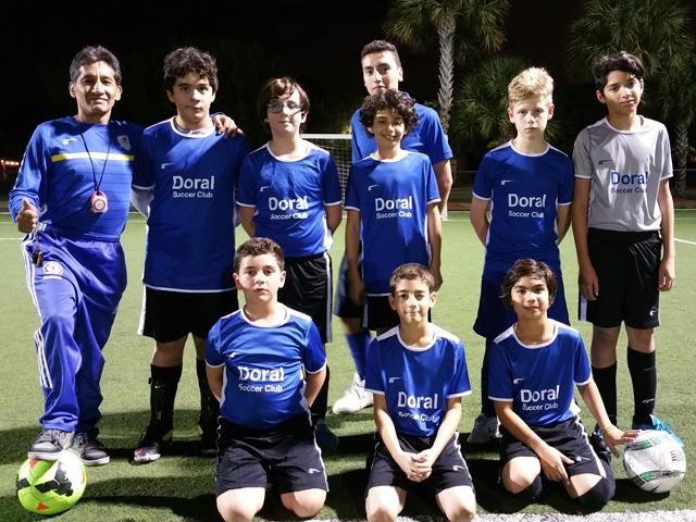Doral Soccer Club Academy Teams 1