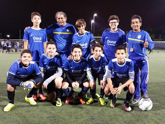 Doral Soccer Club Academy Teams 15