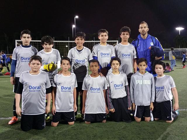 Doral Soccer Club Academy Teams 16
