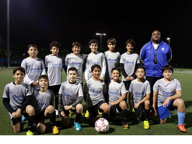 Doral Soccer Club Academy Teams 2