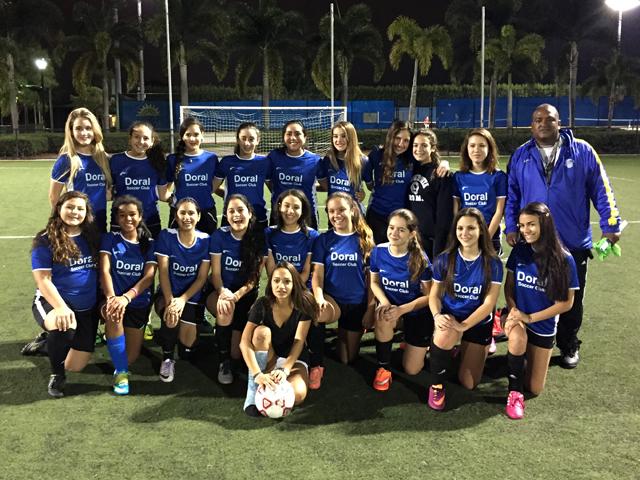 Doral Soccer Club Academy Teams 4
