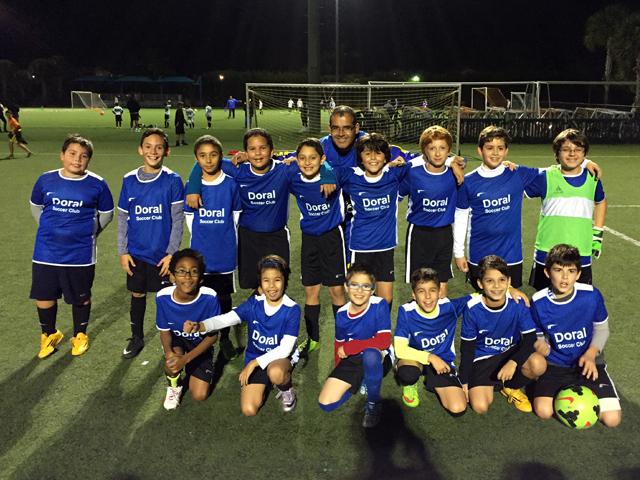 Doral Soccer Club Academy Teams 7
