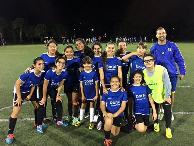 Doral Soccer Club Academy Teams 8