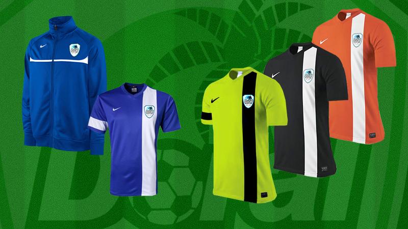 Doral Soccer Club Uniforms 2013 / 2014