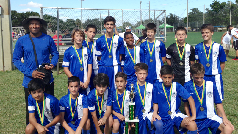 Try County League U13 White Champion's Early Season 2013