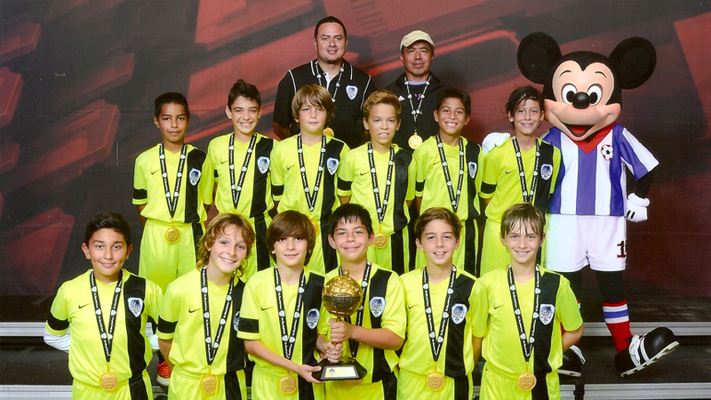 Champion's Disney Junior Soccer Showcase December 2013