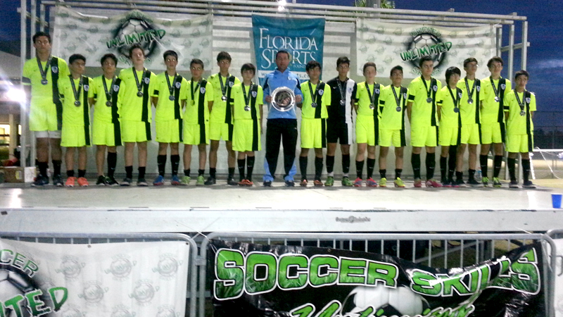 Finalist U14 White / U13 Blue – Kelme Cup Naples