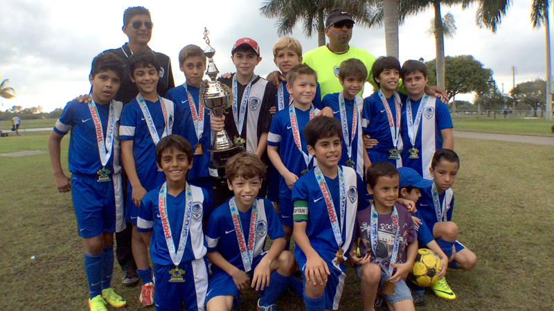 U11 Blue SFUYSA Regular Season Champions!