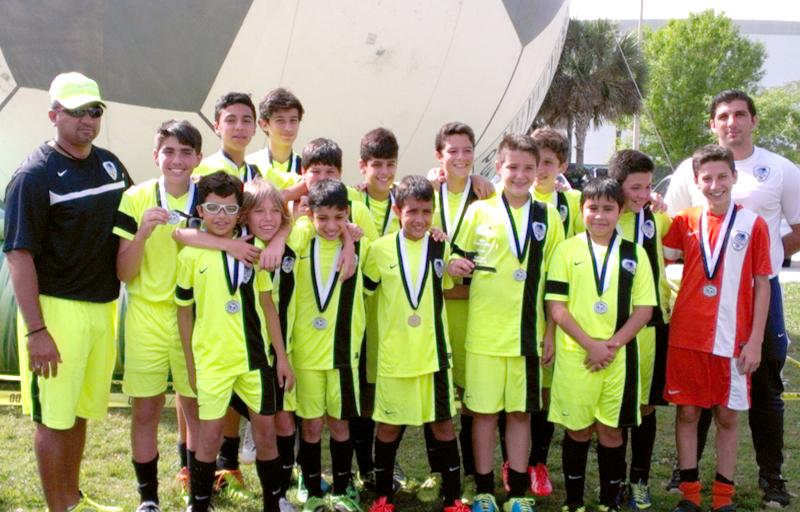 Finalist U13 Blue Region Cup A Div 2