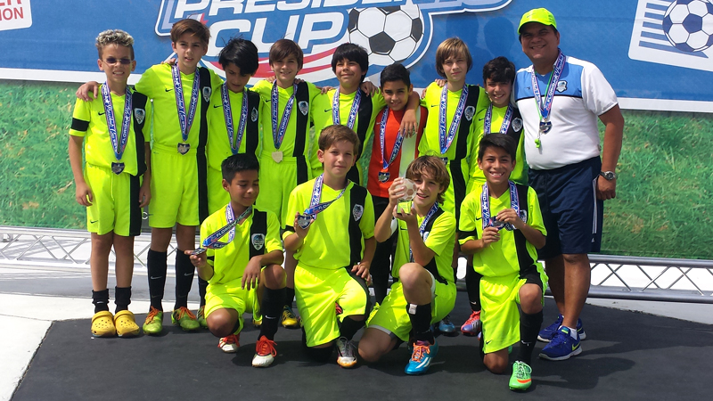 Champion's Florida Presidents Cup U11 White