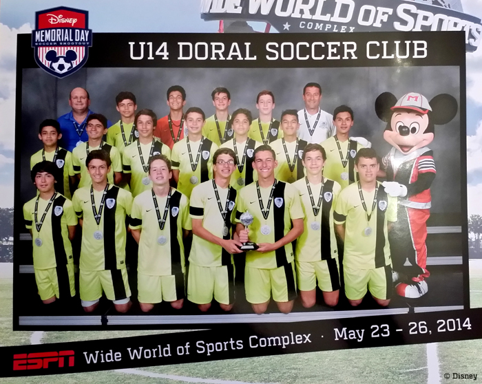 U14 Finalist Memorial Day Disney 2014