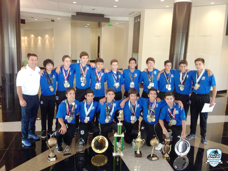 U14 White – City of Doral Recognition 2014