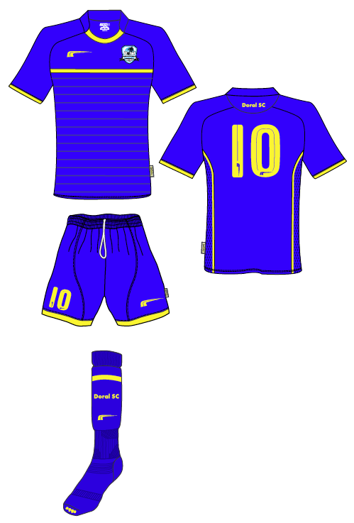 Doral Soccer Club Uniforms