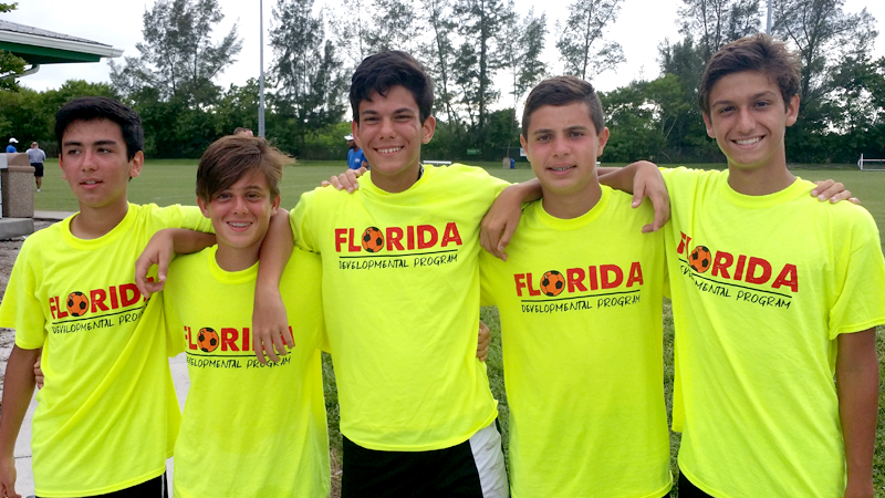 Florida State and Region III ODP Player Selections