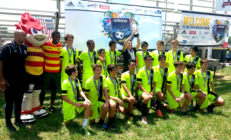 U14 White Coach Marcos Colman – Mega Cup Tournament sub-champions