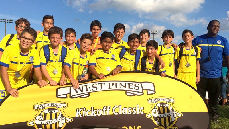 Finalist West Pines U13 Blue