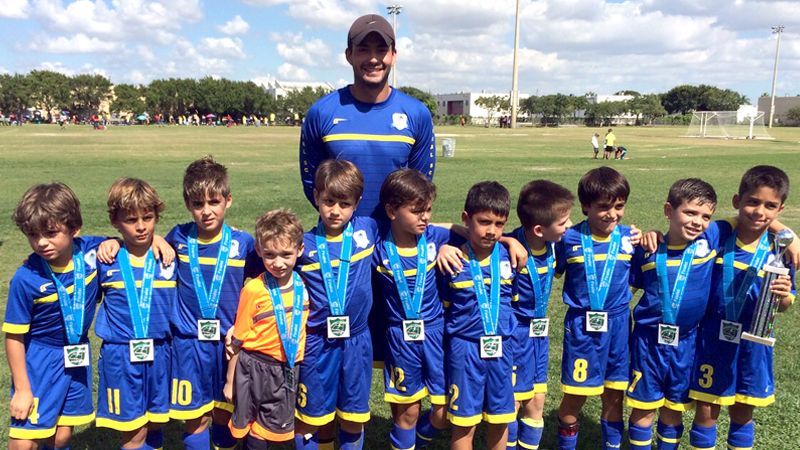 Finalist Miami Dade Soccer League U8