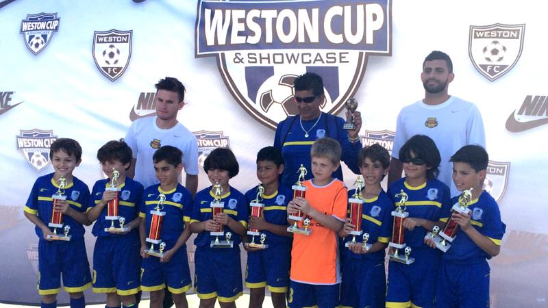 U9 White Finalist Weston Tournament 2015