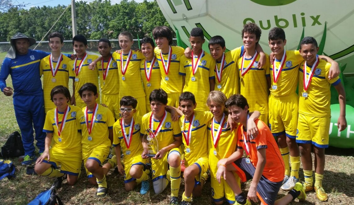 U14 Blue Champion's Region A Cup Florida Youth Soccer 2015