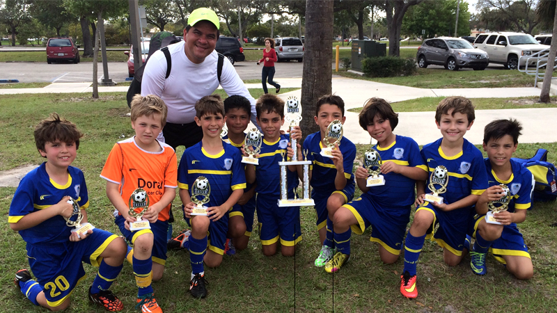 U9 White Finalist World Cup 2015