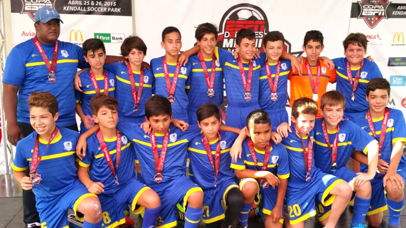 U13 Blue Finalist Copa ESPN Miami April 25/26 – 2015