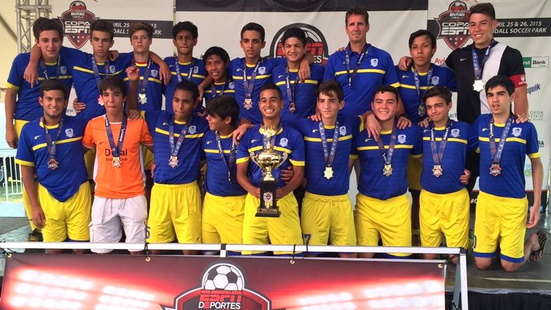 U16 White Champion's Copa ESPN Miami April 25/26 – 2015