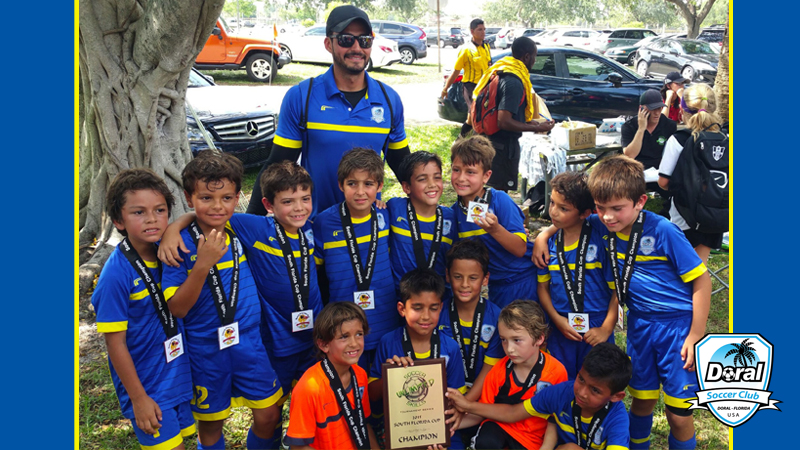 U8 White Champion's South Florida Cup April 25/26- 2015