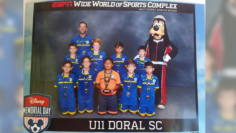U11 White Semi-Finalist – Disney Memorial Day  May 2015
