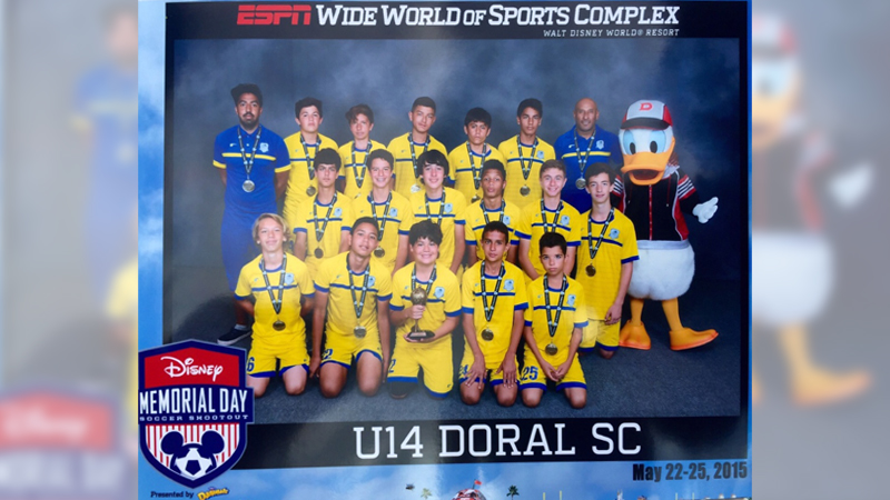 U14 Blue Semi-Finalist – Disney Memorial Day  May 2015