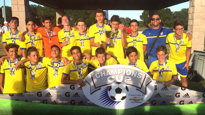 U15 White Finalist – Champion's Cup Chevrolet May 2015!