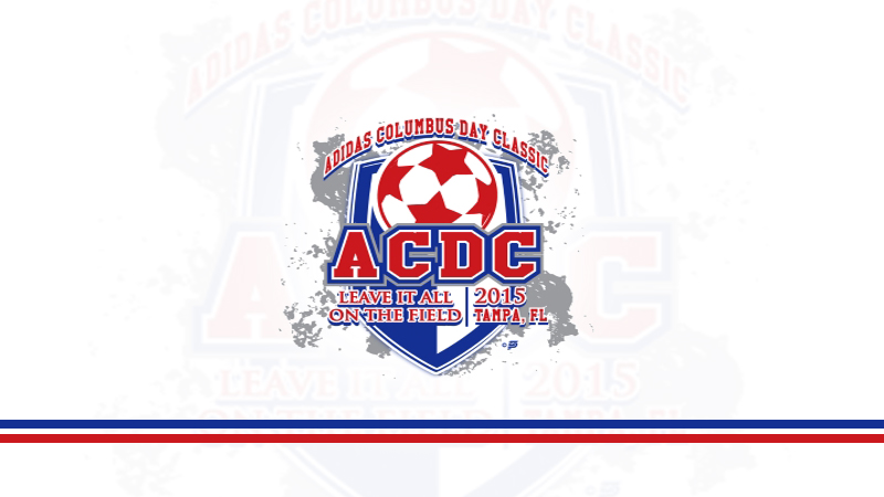 2015 Adidas Columbus Day Classic October 9-11, 2015