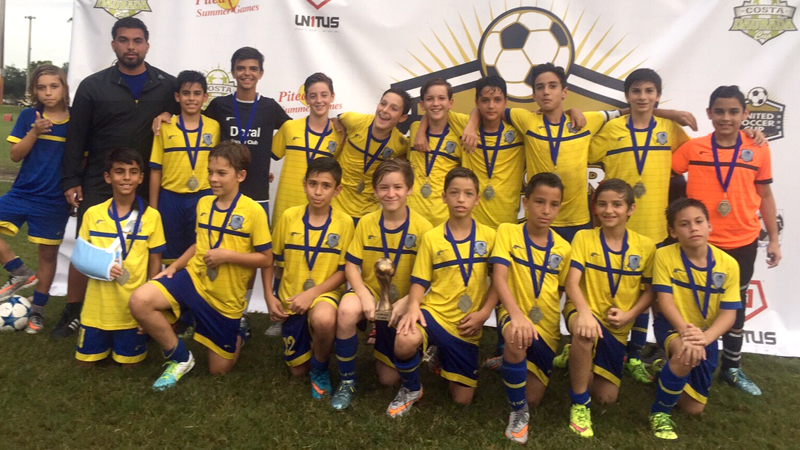 13 White Champion's United Soccer Cup 2015