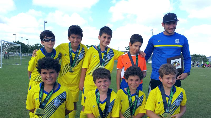 U10 Blue Finalist Thanksgiving gold cup 2015