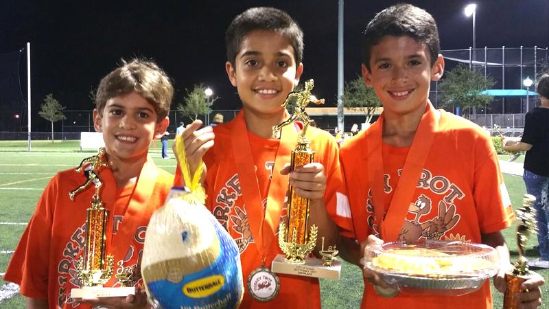 Champion's - U10 - Andres Bavaresco, Nicolas Padilla, Daniel Vanososte.