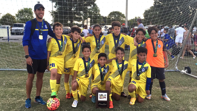 U11 Red Finalist Thanksgiving gold cup
