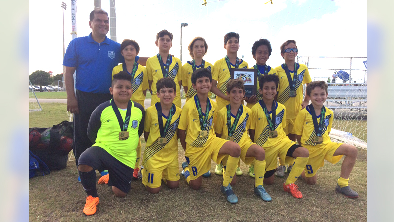 U11 white chamption thanksgiving gold cup 2015