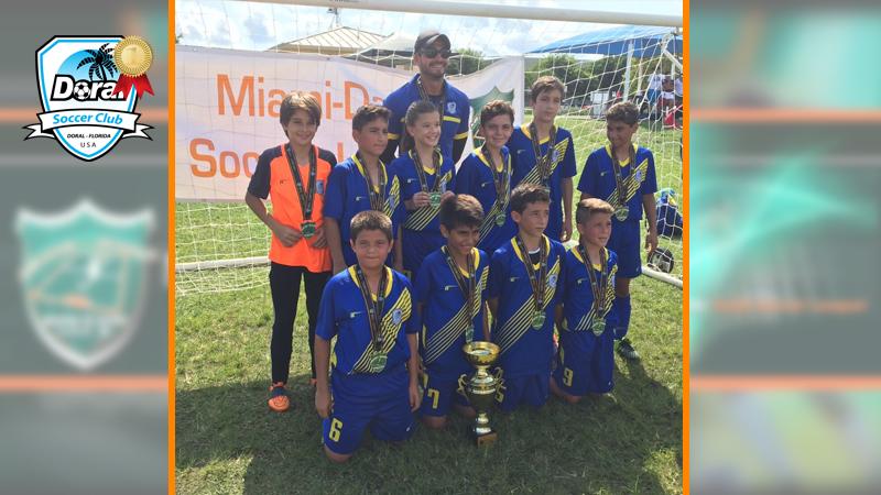 Champion's U12 White – Miami Dade Soccer League