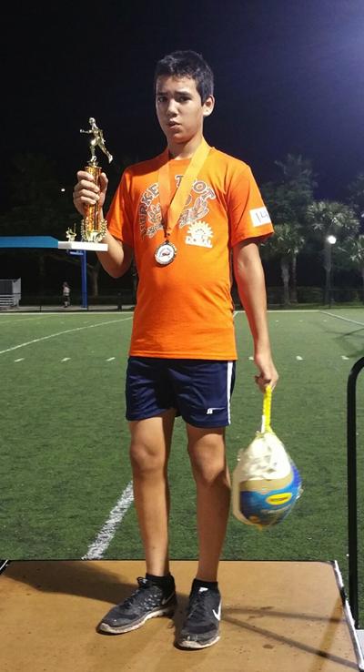 Champion's - U13- Aitor Echeverria