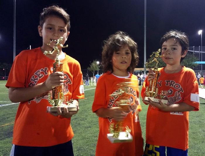 Champion's - U8 Roger Garces, Matias Briceño, Omar Duque