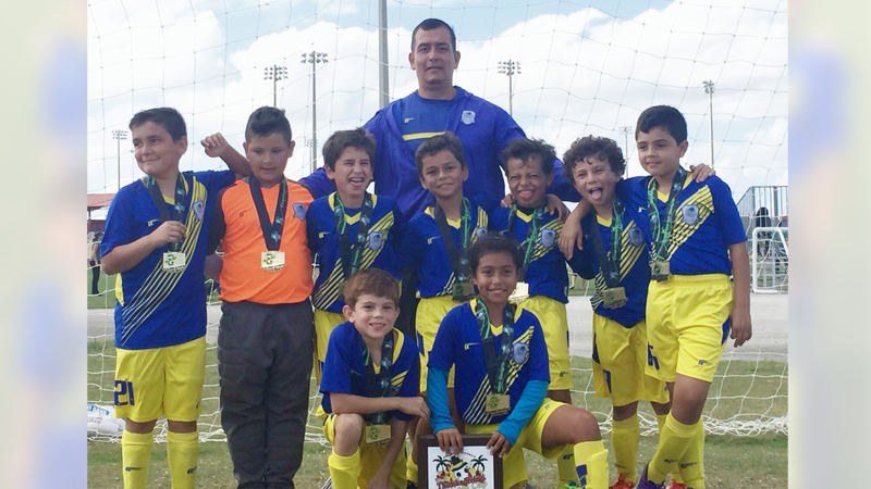 U9 Blue Champions Thanksgiving gold cup 2015
