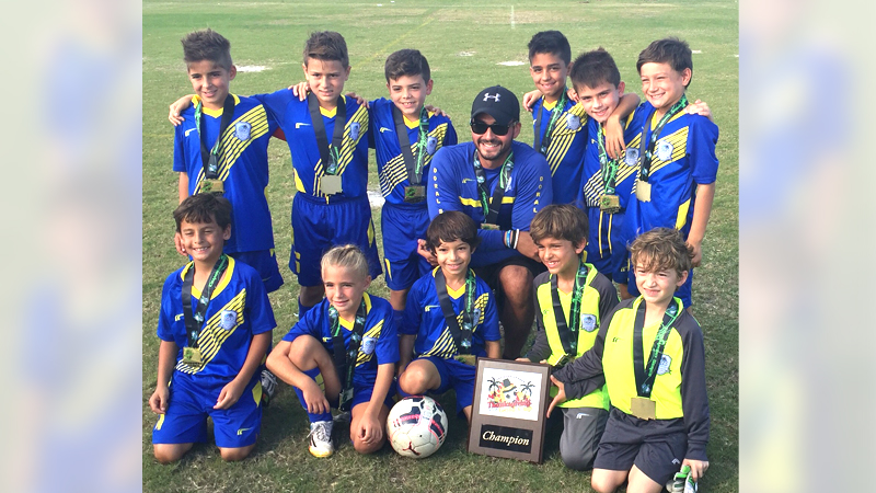 U9 White Champions Thanksgiving gold cup 2015