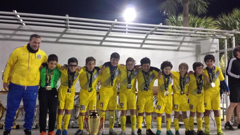 Doral Soccer U10 BLUE CHAMPIONS Naples_2016
