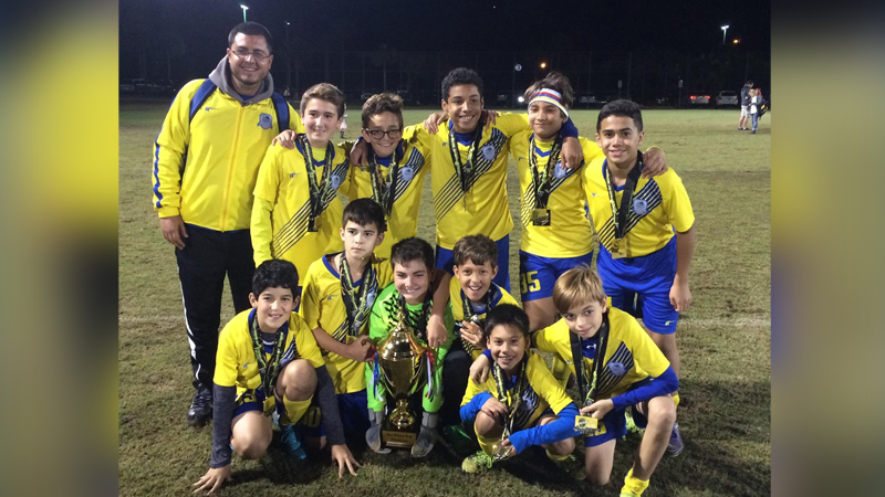 Doral Soccer U12 RED CHAMPIONS Naples_2016 2